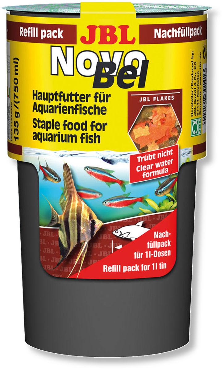 Корм JBL NovoBel для всех аквариумных рыб, в форме хлопьев, 135 г (750 мл)JBL3014100Основной корм JBL NovoBel подходит для всех аквариумных рыб. Представлен в виде хлопьев. Сбалансированный корм содержит свыше 50 натуральных питательных веществ, 7 различных сортов хлопьев. Количество фосфатов рассчитано рост рыб, а также сокращение водорослей. Дополнением служат натуральный витамин Е в качестве антиоксиданта и стабилизированный витамин С. Рекомендации по кормлению: 2-3 раза в день в количестве, которое съедается рыбками за 2-3 минуты. Состав: рыба и рыбные побочные продукты, злаки, моллюски и ракообразные, растительные побочные продукты, овощи, экстракты растительного белка, дрожжи, яйца и продукты из яиц, водоросли. Анализ: протеин - 45,2%. жир - 5%, клетчатка - 1,5%, чистая зола - 9,7%. Содержание витаминов на 1 кг: Витамин А 25 000 I.E, Витамин D3 2 000I.E, Витамин Е 330 мг, Витамин С 400 мг, Инозит 750 мг. Товар сертифицирован.