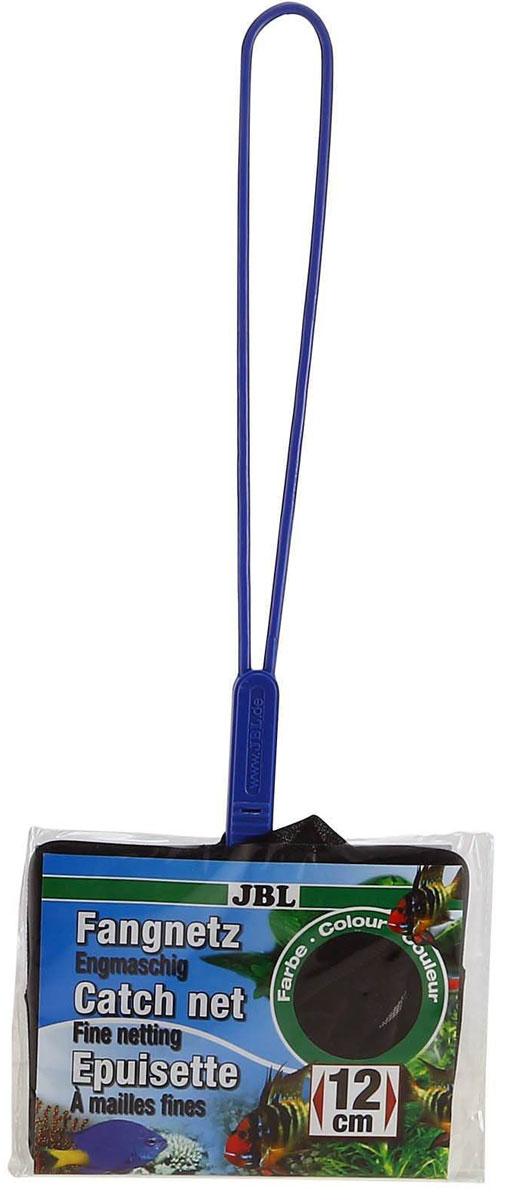 Сачок аквариумный JBL Fangnetz Premium, мелкоячеистый, 12 х 10,5 смJBL6104300Сачок JBL Fangnetz Premium предназначен для легкого извлечения рыб или остатков корма из аквариума. Изделие выполнено из металла со специальным пластиковым покрытием. Сетка изготовлена из износоустойчивой нейлоновой нити. Такой сачок безопасен для рыб, устойчив к коррозии и долговечен. Можно использовать в пресной и морской воде. Размер сачка: 12 х 10,5 см. Длина ручки: 25 см.