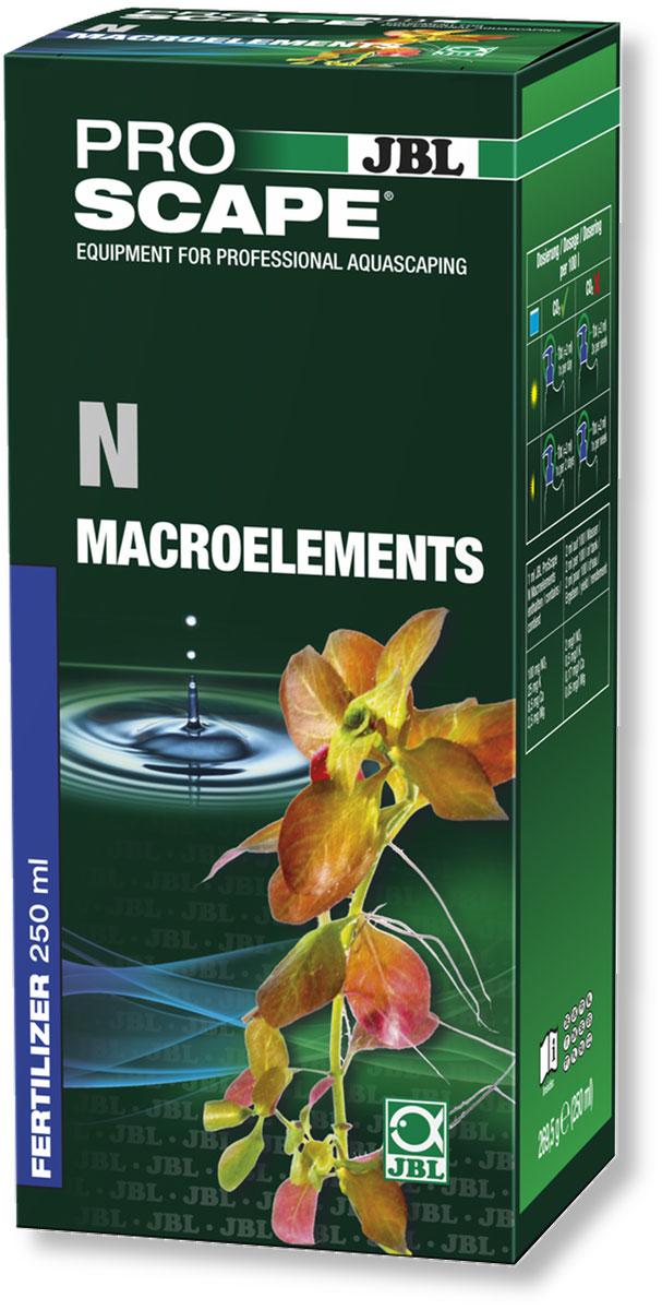 Удобрение для аквариумных растений JBL N Macroelements, азотное, с дозатором, 250 млJBL2111700Азотное удобрение JBL N Macroelements предназначено для растительных аквариумов с небольшим количеством рыб или без рыб, таких как нано-аквариумы и акваскейпинговые аквариумы. Удобрение содержит калий, кальций и магний. Базовая дозировка для хорошо освещенных аквариумов с подачей CO2: 2 мл/100 л. Рекомендуемое содержание нитратов в аквариумной воде: 10-30 мг/л. Правильность дозировки необходимо контролировать при помощи теста JBL Nitrate Test. Бутылка и крышка оснащены мерными делениями. В комплект входит дозатор на 2 мл, который можно привинчивать вместо колпачка. Объем: 250 мл.