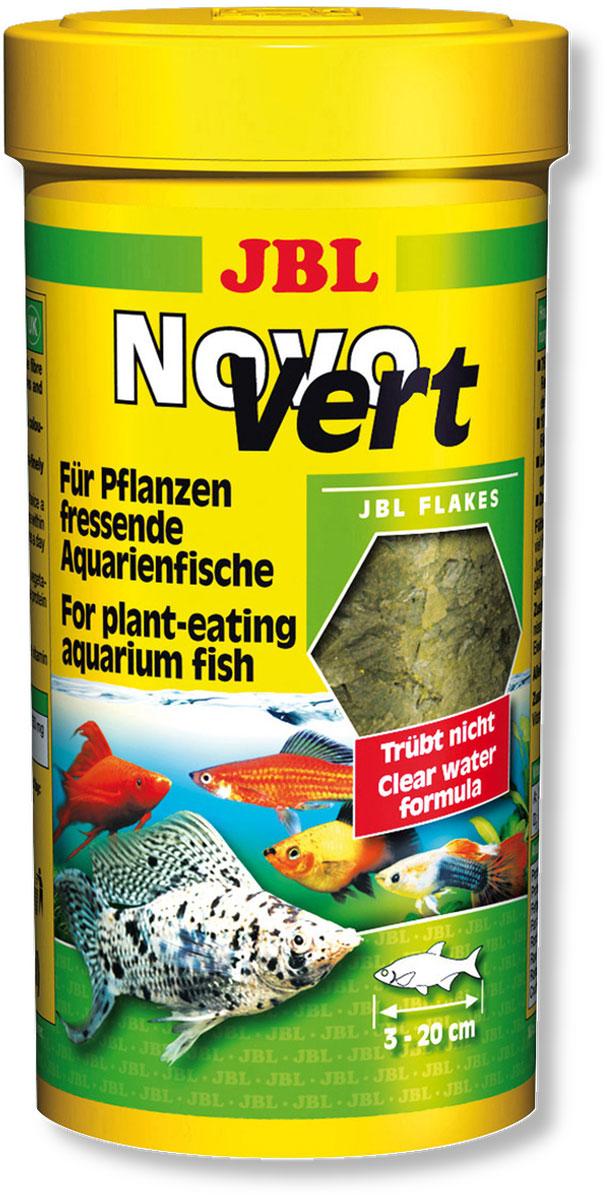 Корм JBL NovoVert для рыб, со спирулиной и планктоном, в форме хлопьев, 250 мл (40 г)JBL3019500Корм JBL NovoVert представляет собой специально подобранную смесь с преобладанием растительных веществ, учитывающую питательные потребности растительноядных аквариумных рыб. Содержит все необходимые им компоненты, в том числе: зерновые, овощи, растительные продукты, рыба и рыбные продукты, рачки, дрожжи, экстракт растительного белка, а также водоросли. Зеленые хлопья с ценными растительными волокнами и высоким удельным весом кормовых трав создают, благодаря регулируемому положению в воде (плавают или медленно погружаются в воду) идеальные условия для кормления всех растительноядных рыб, обитающих в средних и верхних слоях аквариума. Стабилизированный витамин С и другие жизненно важные витамины и биоэлемент Инозит обеспечивают здоровый рост и укрепляют иммунитет. Корм можно давать несколько раз в день, однако всегда небольшими дозами, которые могут быть съедены в течение нескольких минут. Идеальный размер корма для рыб от 3 до 20 см. ...