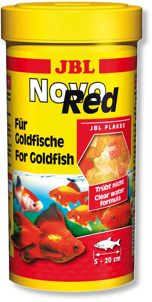 Корм JBL NovoRed для золотых рыб, в форме хлопьев, 250 мл (45 г)JBL3020000Основной корм JBL NovoRed в форме хлопьев для золотых рыб. Корм JBL NovoRed содержит все компоненты, отвечающие питательным потребностям золотых рыб, объединенные в сбалансированной смеси с высоким содержанием растительных элементов: зерновые, рыба и рыбные продукты, рачки, дрожжи, растительные продукты, а также водоросли. Легко усваиваемые хлопья средней величины являются излюбленным лакомством всех золотых рыб. Жизненно важные растительные ингредиенты, стабилизированный витамин С и другие витамины, а также биоэлемент Инозит обеспечивают здоровый рост и укрепляют иммунитет. Корм можно давать несколько раз в день ежедневно, небольшими порциями, которые съедаются в течение нескольких минут. Идеальный размер корма для рыб от 5 до 20 см. - Низкое содержание белка соответствует питательным потребностям таких холодноводных рыб, как золотые рыбы. - Корм содержит сбалансированную смесь из более чем 50 компонентов. - 7...