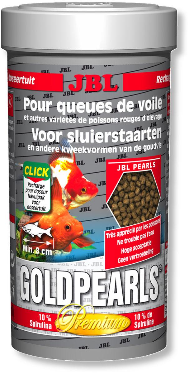 Корм JBL GoldPearls для вуалехвостых и других декоративных золотых рыб, в форме гранул, 250 мл (145 г)JBL4063580Корм JBL GoldPearls содержит комбинацию питательных элементов, для разных аквариумных золотых рыбок в форме жемчужин, которая наилучшим образом соответствует их питанию. В корме содержится высокая доля животного и растительного белков из зародышей пшеницы, рыбы и сои. 10% спирулина, зародыши пшеницы и растительное сырье укрепляют здоровье рыбок. Витамины, жирные кислоты с каротиноидами усиливают иммунитет и рост. Высокий % растительного протеина, дрожжей, овощей, рыбы и побочные рыбные продукты, рачки, водоросли. Идеальный размер корма для рыб от 8 см. Рекомендации по кормлению: два или три раза в день порциями, которые могут быть съедены рыбами в течение нескольких минут. Состав: клетчатка 4%, жир 5%, белок 41%, зола 11%, витамин А 25000 i.E., витамин 200 мг., витамин Е 300 мг., витамин D3 2000 i.E. Вес: 145 г. Товар сертифицирован.