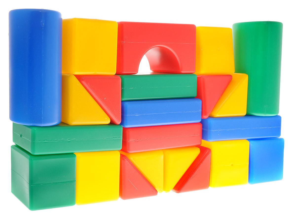 ГринПласт Конструктор Маша и Медведь Давай строить GT5529GT5529Яркий конструктор Маша и Медведь. Давай строить! привлечет внимание вашего ребенка и не позволит ему скучать. Это яркие, вариативные по форме и размерам детали, которые могут послужить материалом для создания целого городка, домика и всего, что ему подскажет фантазия. Из кубиков можно построить оригинальные здания и башни, выдумывать новые игры и формы. Элементы конструктора крупные, поэтому ребенку будет легко и удобно играть с ними. Все элементы изготовлены из высококачественных материалов, которые абсолютно безопасны для ребенка. Конструктор состоит из 22 крупных деталей. Игра с конструктором поможет ребенку научиться соотносить форму и величину предметов, развить мелкую моторику рук, логическое и пространственное мышление и творческие способности, а также поспособствует развитию концентрации внимания и усидчивости.
