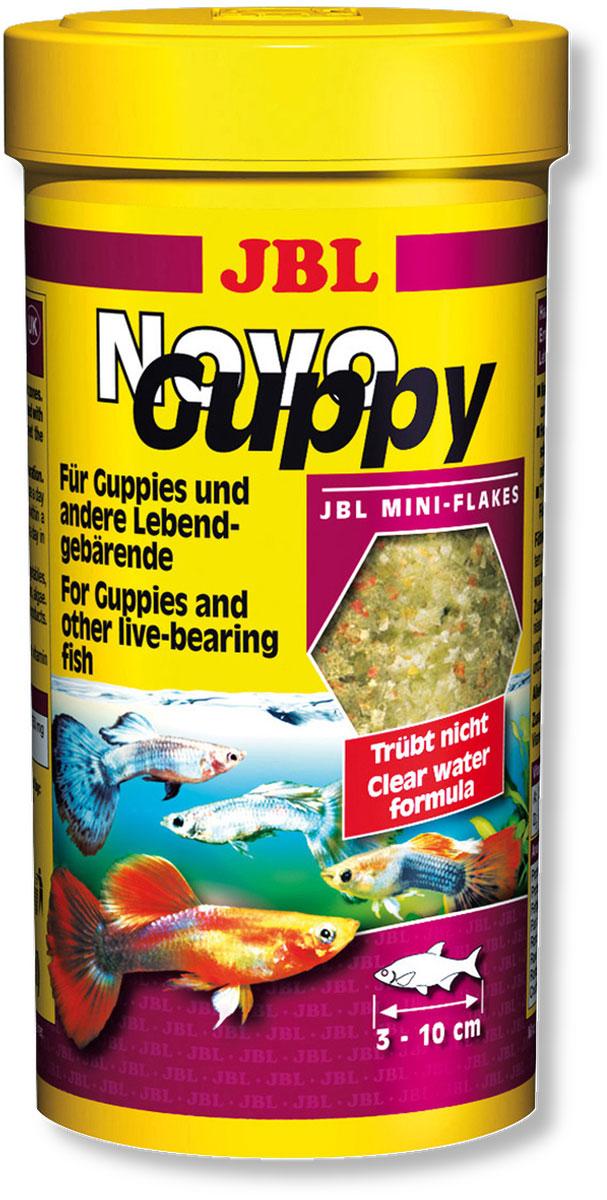 Корм JBL NovoGuppy для гуппи, 100 мл (21 г)JBL3017500Корм JBL NovoGuppy Профессиональный корм для всех живородящих карпозубовых, которые питаются в основном растительной пищей (водорослями) и в небольшом объеме потребляют животную пищу (планктон, красные личинки комаров). Водоросли 7% спирулина имитируют натуральную пищу живородящих, таких как гуппи. Ценные каротиноиды способствуют сохранению и усилению природной окраски рыб. Идеальный размер корма для рыб от 3 до 10 см. Рекомендации по кормлению: 2-3 раза в день в количестве, которое съедается рыбками за 2-3 минуты. Состав: жир 5,50%, белок 36%, клетчатка 2,5%, зола 8,5%, злаки 31,88%, растительные продукты 16,37%, овощи 11,73%, рыба и рыбные продукты 11,49%, концентрат рыбных протеинов моллюски и ракообразные 11,05%, водоросли 7,48%, дрожжи 3,23%, яйца и яичные продукты 0,67%. Вес: 21 г. Товар сертифицирован.