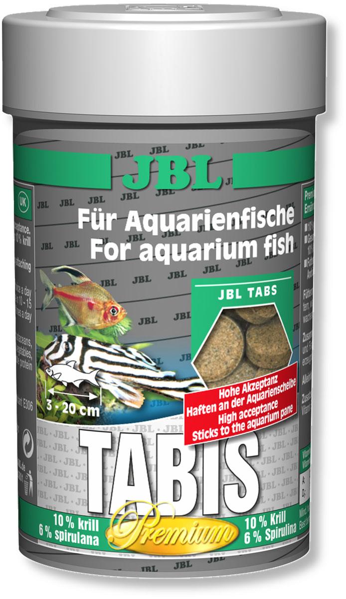 Корм JBL Tabis для рыб, в форме таблеток с добавками, 100 мл (58 г)JBL4060000Корм JBL Tabis представляют собой кормовые таблетки высшего сорта, изготавливаемые только из лучшего натурального сырья и представляющие собой особое лакомство для всех аквариумных рыб. Высокое содержание криля и спирулины, а также 10% содержание питательных организмов, высушенных методом заморозки, обеспечивают здоровый рост и естественным образом улучшают окраску рыб. Особая технология тонкого помола сырья гарантирует легкую усвояемость и уменьшает нагрузку на воду. Сбалансированный мультивитаминный комплекс со стабилизированным витамином С укрепляет иммунную систему и уменьшает риск заболеваний. Кормовые таблетки можно легко прилепить с внутренней стороны аквариумного стекла или опустить на дно аквариума в любом месте. Идеальный размер корма для рыб от 3 до 20 см. Рекомендации по кормлению: два или три раза в день порциями, которые могут быть съедены рыбами в течение нескольких минут. Состав: витамин А 30000 i.E., витамин D3...