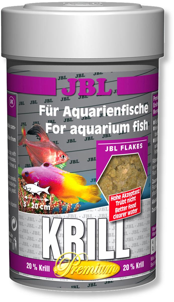 Корм JBL Krill для рыб, в форме хлопьев, 100 мл (16 г)JBL4058100Корм JBL Krill привносит высокоценное разнообразие в меню всех аквариумных рыб. Специальным способом криль мелется в пыль и формируется в хлопья, которые поедаются аквариумными рыбами весьма охотно. Благодаря такой технологии шипы криля больше не опасны для пищеварения рыб. Ценные жирные кислоты и естественные красители криля, а также жизненно важные витамины способствуют здоровому росту и прекрасной окраске рыб. Идеальный размер корма для рыб от 3 до 20 см. Рекомендации по кормлению: два или три раза в день порциями, которые могут быть съедены рыбами в течение нескольких минут. Состав: белок 47%, жир 6%, клетчатка 3,5%, чистая зола 10,5%, витамин А 25000 i.E., витамин D3 2000 i.E., витамин Е 300 мг., витамин С 400 мг., инозит 750 мг. Вес: 16 г. Товар сертифицирован.