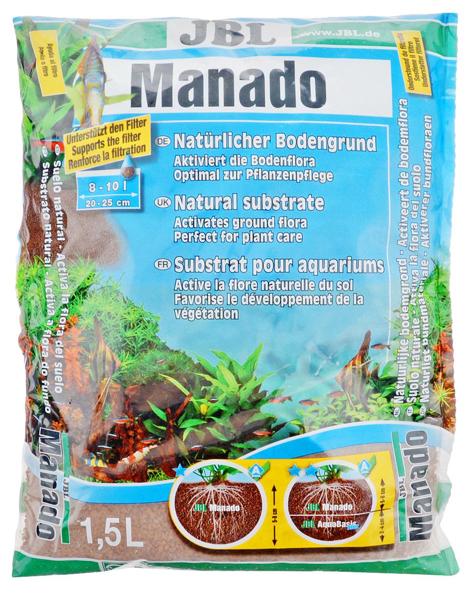Грунт для аквариума JBL Manado, питательный, цвет: красно-коричневый, 1,5 лJBL6702100Натуральный грунт JBL Manado предназначен специально для оформления аквариумов. Изделие готово к применению. Питательный субстрат фильтрующий воду и улучшающий рост растений порадует начинающих любителей природы и самых придирчивых дизайнеров, стремящихся к созданию нового, оригинального. В отличие от других питательных субстратов JBL Manado не снижает жесткость воды. Вместо этого JBL Manado нейтрален по отношению к воде и не выделяет в воду опасные вещества. Уникальная структура способствует росту корней. Сильнопористая поверхность предоставляет идеальное окружение для заселения очистительных бактерий. Его округлая форма защищает усы растений от поедания донными рыбами. Также грунт предотвращает рост водорослей, так как он поглощает из воды излишки удобрений. Натуральный цвет обожженной глины хорошо сочетается с различными зеленоватыми и красноватыми цветами аквариумных растений. Объем: 1,5л.