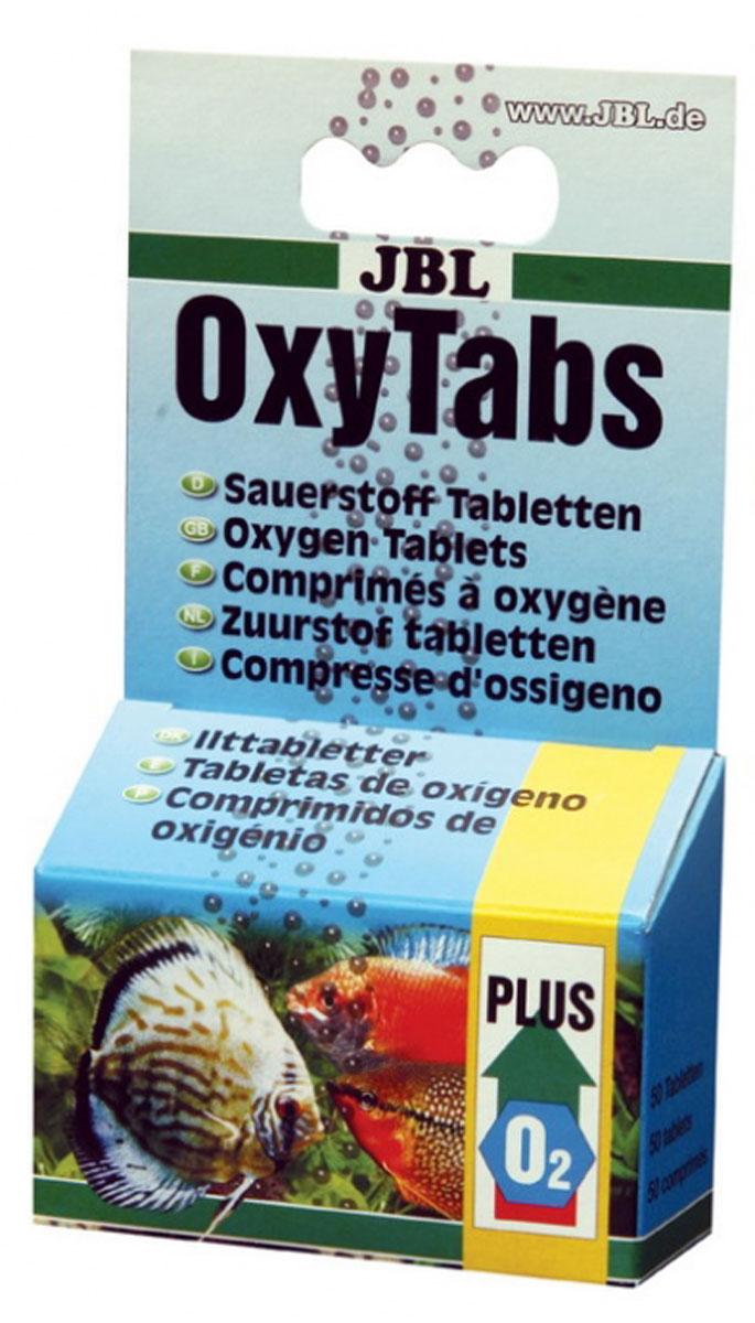 Таблетки кислородные JBL OxyTabs, для аквариума, 50 штJBL2008000Таблетки JBL OxyTabs для оперативного повышения содержания кислорода в аквариуме или при транспортировке рыб в течение максимум трех часов. Одна таблетка содержит 30 мг кислорода и рассчитана на 10 л воды. Применяется в качестве заменителя электрического аэратора, при транспортировке рыб в рыболовном спорте, в аквариуме. Повышение дозы в принципе возможно, однако объем дозы в этом случае должен быть определен опытным путем с учетом потребности для конкретного вида рыбы. Продолжительность транспортировки рыбы не должны превышать 8 часов. У сомов и других донных рыб может возникнуть непереносимость. В таком случае от применения следует отказаться. Количество таблеток: 50 шт. Товар сертифицирован.