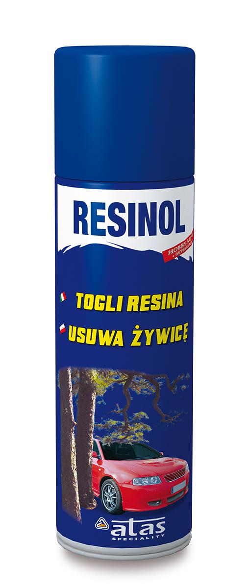 Средство для удаления смолы со стекол и лакокрасочных поверхностей Atas Resinol, 250 мл5620Быстро растворяет и удаляет остатки смолы хвойных деревьев, липы и др. Не оставляет разводов.