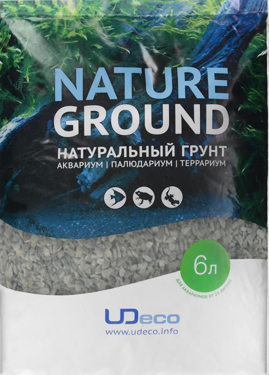Грунт для аквариума UDeco Изумрудный гравий, натуральный, 4-6 мм, 6 лUDC420556Натуральный грунт UDeco Изумрудный гравий предназначен специально для оформления аквариумов, палюдариумов и террариумов. Изделие готово к применению. Грунт UDeco порадует начинающих любителей природы и самых придирчивых дизайнеров, стремящихся к созданию нового, оригинального. Такая декорация придутся по вкусу и обитателям аквариумов и террариумов, которые ещё больше приблизятся к природной среде обитания. Необходимое количество грунта рассчитывается по формуле: длина аквариума х ширина аквариума х толщина слоя грунта. Предназначен для аквариумов от 25 литров. Фракция: 4-6 мм. Объем: 6 л.