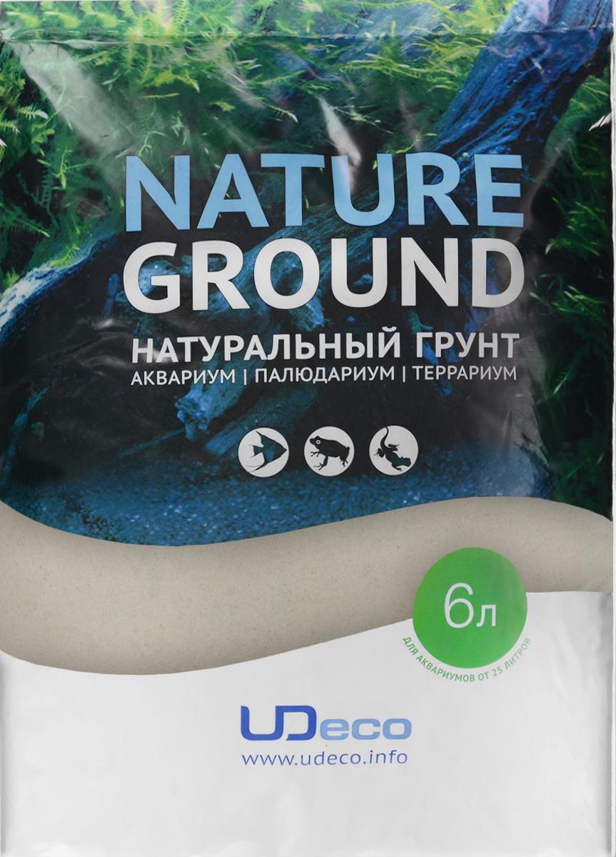 Грунт для аквариума UDeco Светлый песок, натуральный, 0,1-0,6 мм, 6 лUDC410116Натуральный грунт UDeco Светлый песок предназначен специально для оформления аквариумов, палюдариумов и террариумов. Изделие готово к применению. Грунт UDeco порадует начинающих любителей природы и самых придирчивых дизайнеров, стремящихся к созданию нового, оригинального. Такая декорация придутся по вкусу и обитателям аквариумов и террариумов, которые ещё больше приблизятся к природной среде обитания. Необходимое количество грунта рассчитывается по формуле: длина аквариума х ширина аквариума х толщина слоя грунта. Предназначен для аквариумов от 25 литров. Фракция: 0,1-0,6 мм. Объем: 6 л.