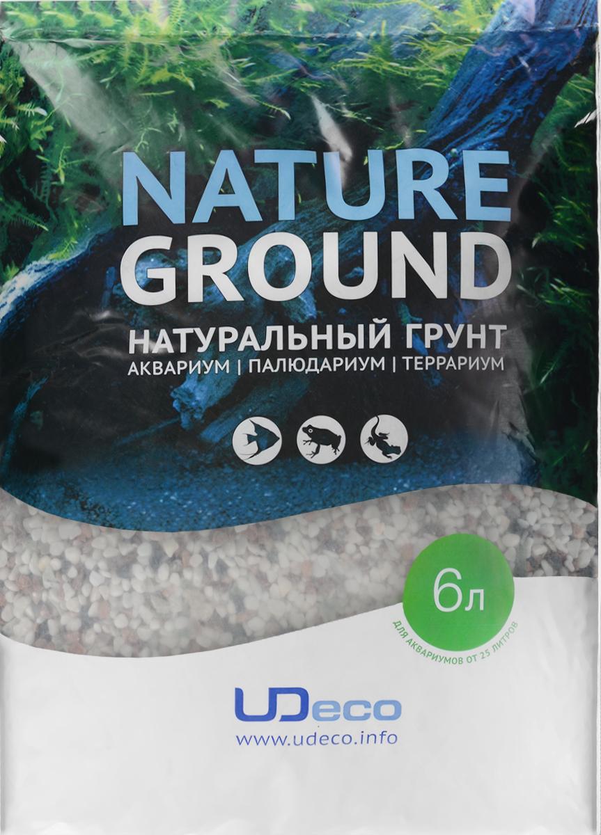 Грунт для аквариума UDeco Разноцветный гравий, натуральный, 4-6 мм, 6 лUDC420856Натуральный грунт UDeco Разноцветный гравий предназначен специально для оформления аквариумов, палюдариумов и террариумов. Изделие готово к применению. Грунт UDeco порадует начинающих любителей природы и самых придирчивых дизайнеров, стремящихся к созданию нового, оригинального. Такая декорация придутся по вкусу и обитателям аквариумов и террариумов, которые ещё больше приблизятся к природной среде обитания. Необходимое количество грунта рассчитывается по формуле: длина аквариума х ширина аквариума х толщина слоя грунта. Предназначен для аквариумов от 25 литров. Фракция: 4-6 мм. Объем: 6 л.