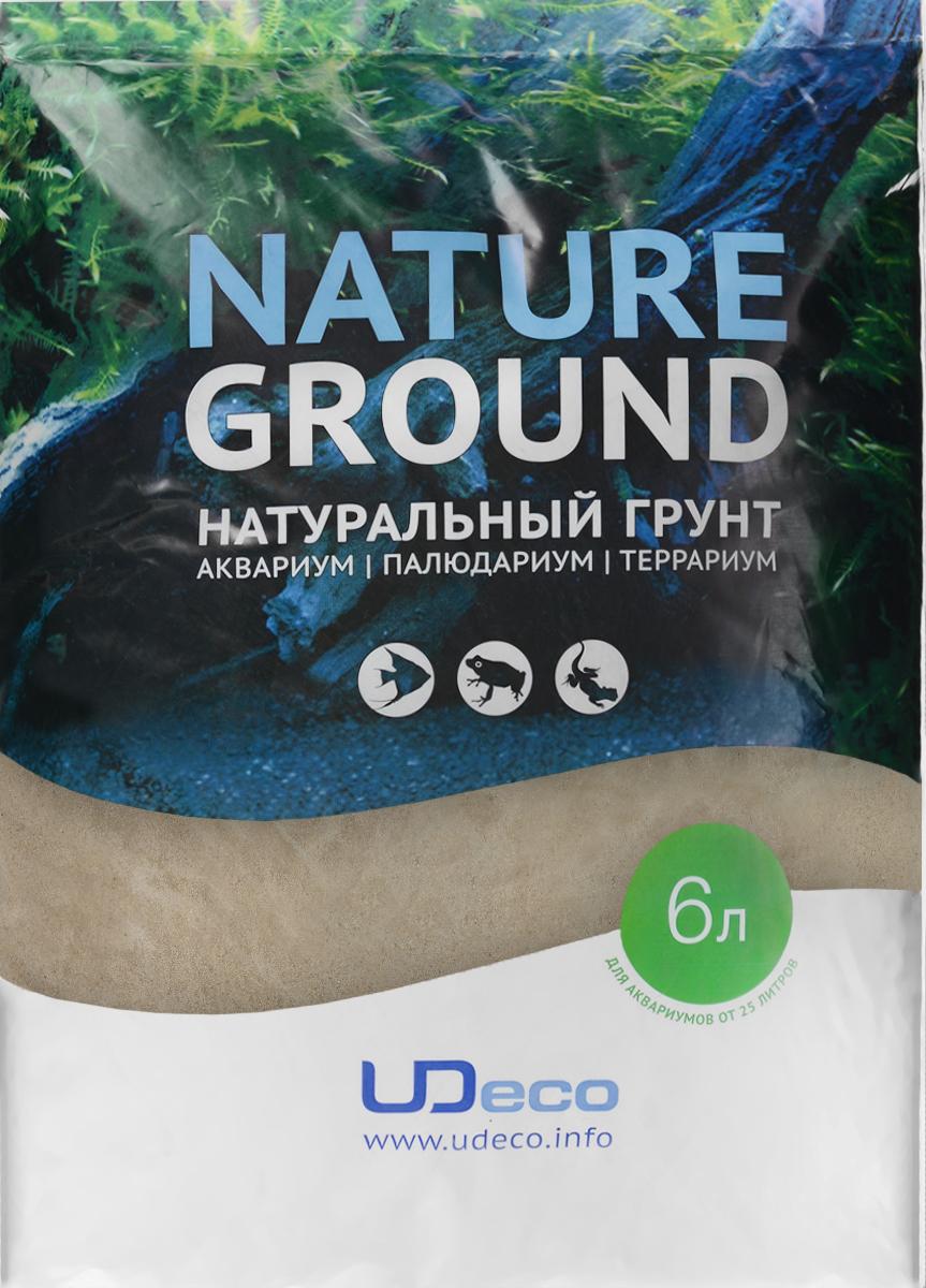 Грунт для аквариума UDeco Янтарный песок, натуральный, 0,1-0,6 мм, 6 лUDC410216Натуральный грунт UDeco Янтарный песок предназначен специально для оформления аквариумов, палюдариумов и террариумов. Изделие готово к применению. Грунт UDeco порадует начинающих любителей природы и самых придирчивых дизайнеров, стремящихся к созданию нового, оригинального. Такая декорация придутся по вкусу и обитателям аквариумов и террариумов, которые ещё больше приблизятся к природной среде обитания. Необходимое количество грунта рассчитывается по формуле: длина аквариума х ширина аквариума х толщина слоя грунта. Предназначен для аквариумов от 25 литров. Фракция: 0,1-0,6 мм. Объем: 6 л.