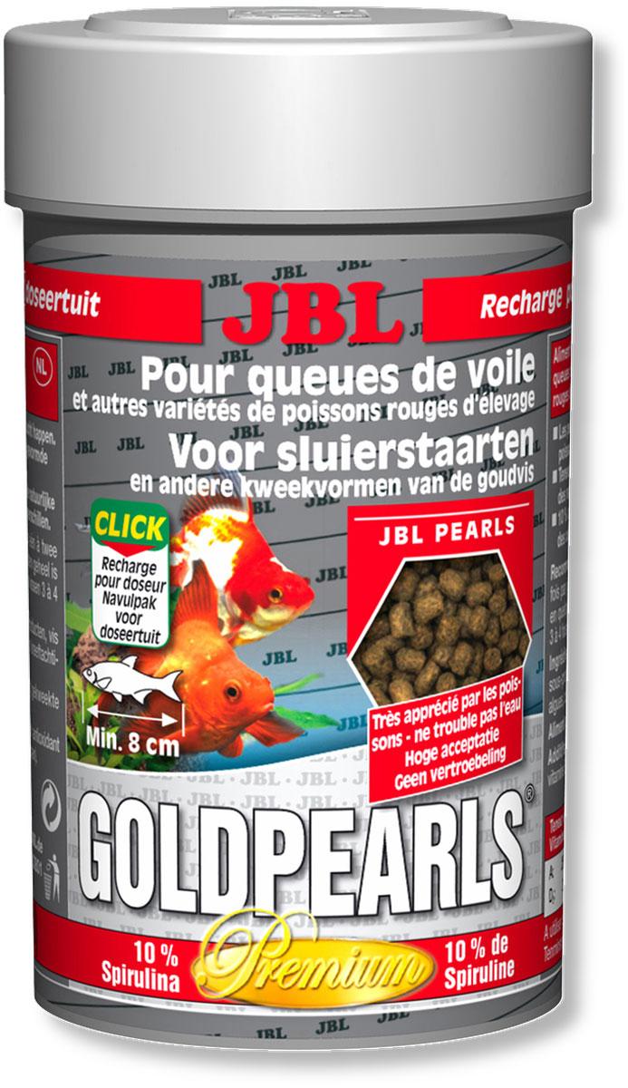 Корм JBL GoldPearls для вуалехвостых и других декоративных золотых рыб, в форме гранул, 100 мл (58 г)JBL4063480Корм JBL GoldPearls содержит комбинацию питательных элементов, для разных аквариумных золотых рыбок в форме жемчужин, которая наилучшим образом соответствует их питанию. В корме содержится высокая доля животного и растительного белков из зародышей пшеницы, рыбы и сои. 10% спирулина, зародыши пшеницы и растительное сырье укрепляют здоровье рыбок. Витамины, жирные кислоты с каротиноидами усиливают иммунитет и рост. Высокий % растительного протеина, дрожжей, овощей, рыбы и побочные рыбные продукты, рачки, водоросли. Идеальный размер корма для рыб от 8 см. Рекомендации по кормлению: два или три раза в день порциями, которые могут быть съедены рыбами в течение нескольких минут. Состав: клетчатка 4%, жир 5%, белок 41%, зола 11%, витамин А 25000 i.E., витамин 200 мг., витамин Е 300 мг., витамин D3 2000 i.E. Вес: 58 г. Товар сертифицирован.
