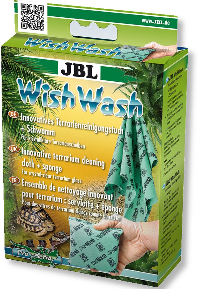 Губка и салфетка JBL WishWash, для эффективной очистки стекол аквариума, 2 предметаJBL6152600Специальная губка и салфетка JBL WishWash для чистки стекол аквариума выполнены из нового специального материала Fyrell на основе микрофибры. Изделия растворяют грязь, впитывая ее, вместо того, чтобы растирать ее по стеклу. Таким образом, протирочные средства уменьшают нагрузку на воду при чистке стекол. Стекла очищаются быстро, чисто и без особых усилий. После использования просто ополосните губку или салфетку без мыла, и они вновь готовы к работе. Стираются при температуре 60°С. Работая с этими средствами, нет опасности пораниться, так как в них нет ни лезвий, ни острых краев. Размер губки: 12 х 10,5 х 2,5 см. Размер салфетки: 49,5 х 39 см.