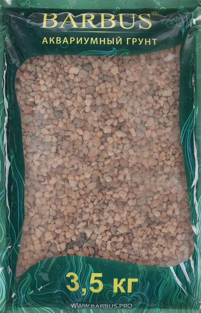 Грунт для аквариума Barbus Премиум, натуральный, кварц, цвет: розовый, 4-8 мм, 3,5 кгGRAVEL 040/3,5Натуральный природный грунт в виде кварца Barbus Премиум прекрасно подходит для применения в пресноводных аквариумах, а также в палюдариумах и террариумах. Грунт является субстратом для укоренения водных растений и служит неотъемлемой частью естественной среды обитания аквариумных видов рыб. Не выделяет в воду вредных веществ безопасен для рыб и растений. Идеален для живых растений. Прошел специальную обработку. Рекомендуется перед использованием грунт промыть. Средняя норма засыпки пакета грунта рассчитана на 20 литров воды стандартных размеров аквариума. Фракция: 4-8 мм.