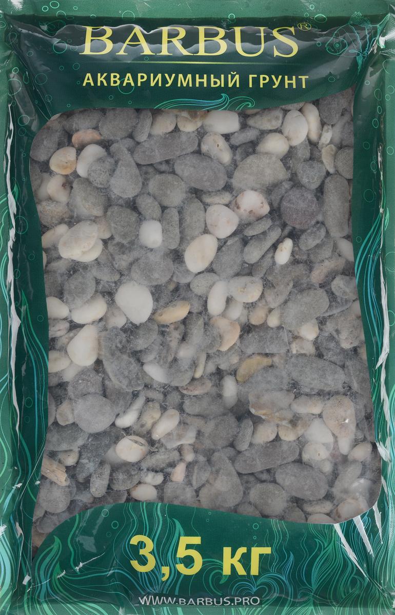 Грунт для аквариума Barbus Феодосия №3, натуральный, галька, 10-15 мм, 3,5 кгGRAVEL 017/3,5Натуральный природный грунт в виде гальки Barbus Феодосия №3 прекрасно подходит для применения в пресноводных аквариумах, а также в палюдариумах и террариумах. Грунт является субстратом для укоренения водных растений и служит неотъемлемой частью естественной среды обитания рыб. Безопасен для всех видов рыб. Рекомендуется перед использованием грунт промыть. Средняя норма засыпки пакета грунта рассчитана на 20 литров воды стандартных размеров аквариума. Фракция: 10-15 мм.