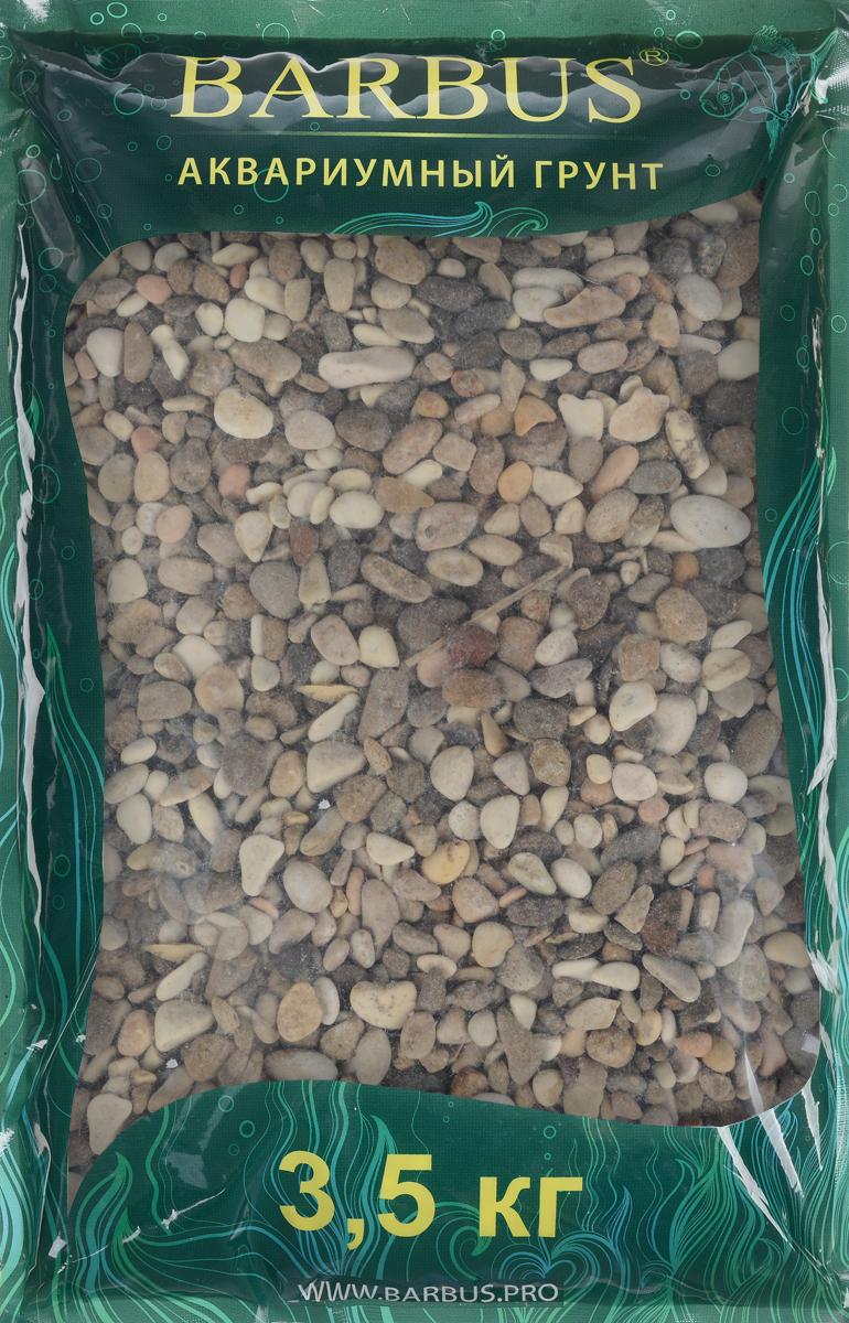 Грунт для аквариума Barbus Пестрая №2, натуральный, галька, 2-5 мм, 3,5 кгGRAVEL 013/3,5Натуральный природный грунт в виде гальки Barbus Пестрая №2 прекрасно подходит для применения в пресноводных аквариумах, а также в палюдариумах и террариумах. Грунт является субстратом для укоренения водных растений и служит неотъемлемой частью естественной среды обитания рыб. Безопасен для всех видов рыб и для живых растений. Рекомендуется перед использованием грунт промыть. Средняя норма засыпки пакета грунта рассчитана на 20 литров воды стандартных размеров аквариума. Фракция: 2-5 мм.