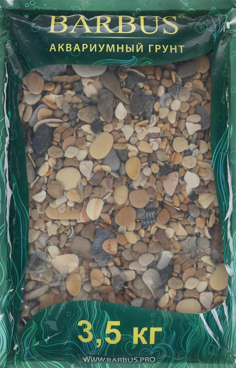 Грунт для аквариума Barbus Каспий, натуральный, галька, 2-20 мм, 3,5 кгGRAVEL 010/3,5Натуральный природный грунт в виде гальки Barbus Каспий прекрасно подходит для применения в пресноводных аквариумах, а также в палюдариумах и террариумах. Грунт является субстратом для укоренения водных растений и служит неотъемлемой частью естественной средой обитания рыб. Безопасен для всех видов рыб и живых растений. Перед применением просто промыть. Предназначен для аквариумов до 20 литров. Фракция: 2-20 мм.