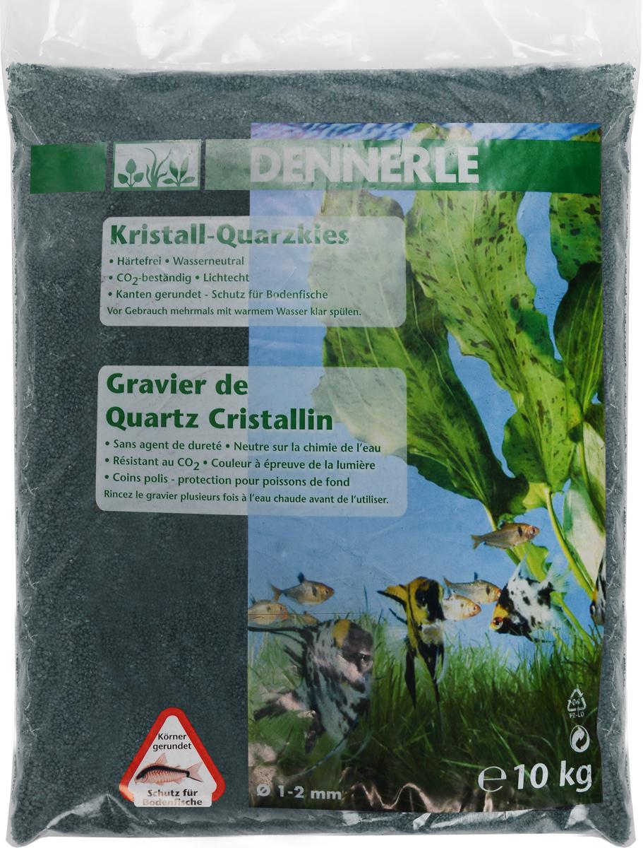 Грунт для аквариума Dennerle Kristall-Quarz, натуральный, цвет: темно-зеленый, 1-2 мм, 10 кгDEN1728Натуральный грунт Dennerle Kristall-Quarz предназначен специально для оформления аквариумов. Изделие готово к применению. Натуральный гравий имеет округлую форму зерна, поэтому он безопасен для донных рыб. Гравий является светостойким, он устойчив к CO2, нейтрален к воде. Грунт  Dennerle  порадует начинающих любителей природы и самых придирчивых дизайнеров, стремящихся к созданию нового, оригинального. Такая декорация придутся по вкусу и обитателям аквариумов и террариумов, которые ещё больше приблизятся к природной среде обитания. Фракция: 1-2 мм. Объем: 10 кг.