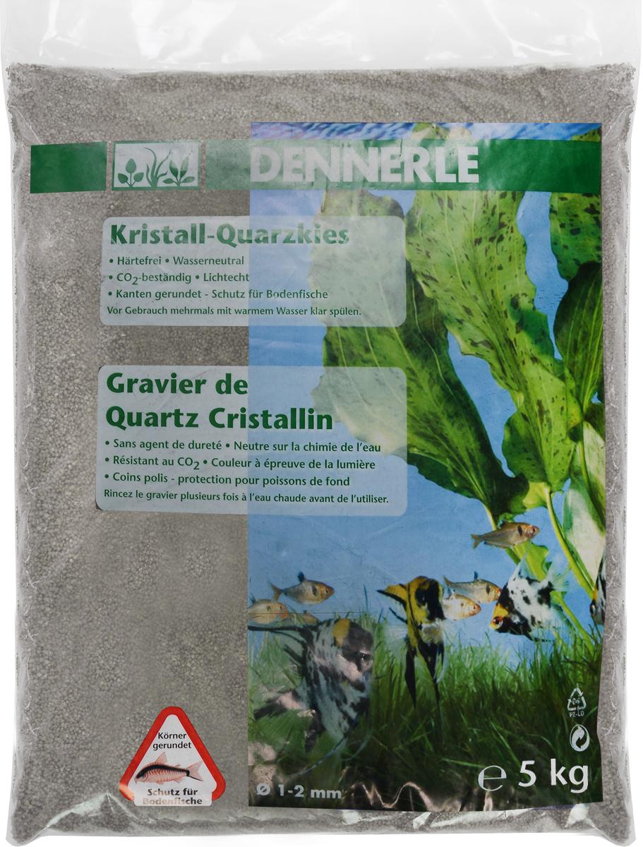 Грунт для аквариума Dennerle Kristall-Quarz, натуральный, цвет: серый, белый, 1-2 мм, 5 кгDEN1743Натуральный грунт Dennerle Kristall-Quarz предназначен специально для оформления аквариумов. Изделие готово к применению. Натуральный гравий имеет округлую форму зерна, поэтому он безопасен для донных рыб. Гравий является светостойким, он устойчив к CO2, нейтрален к воде. . Грунт  Dennerle  порадует начинающих любителей природы и самых придирчивых дизайнеров, стремящихся к созданию нового, оригинального. Такая декорация придутся по вкусу и обитателям аквариумов и террариумов, которые ещё больше приблизятся к природной среде обитания. Фракция: 1-2 мм. Объем: 5 кг.
