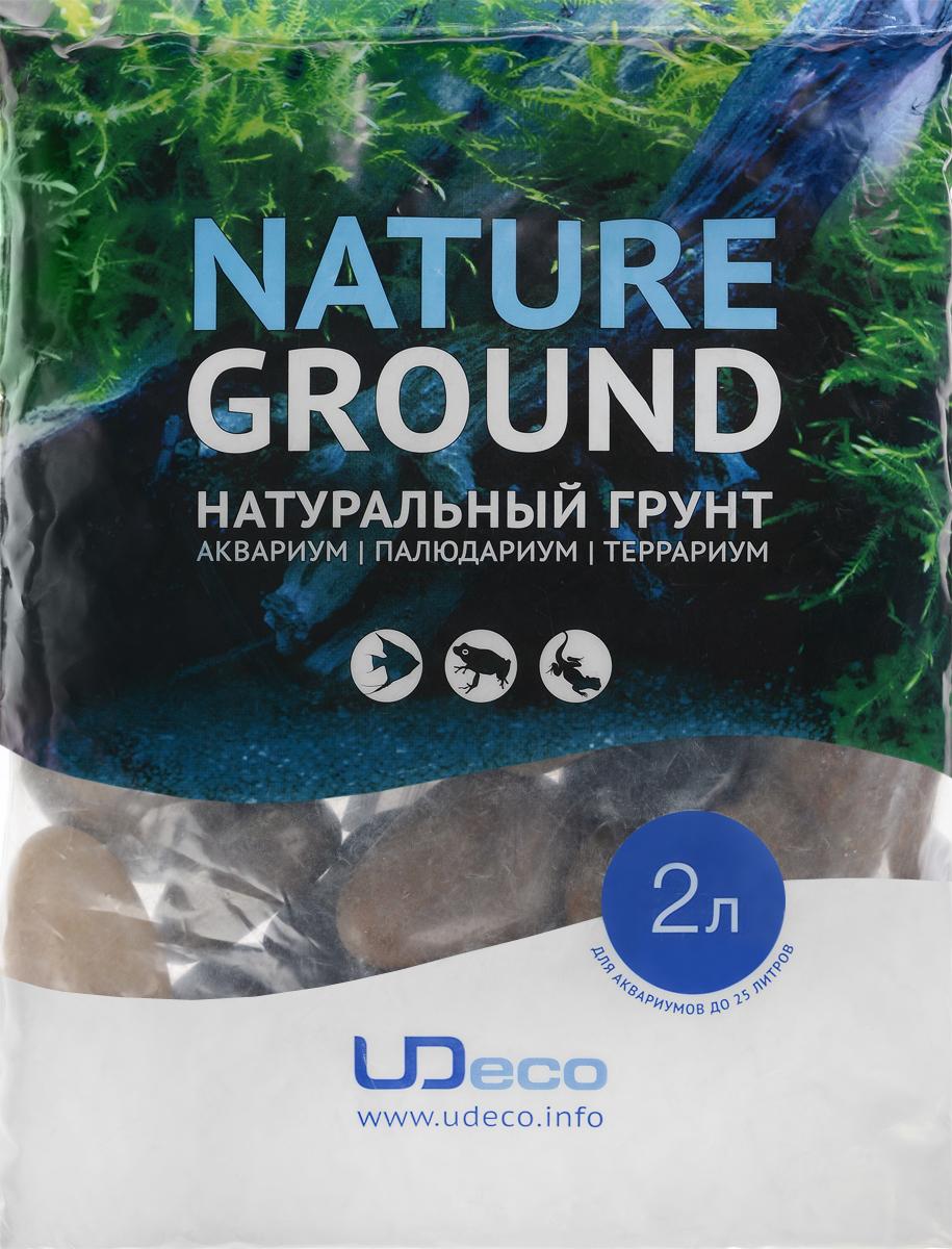Грунт для аквариума UDeco Разноцветная галька, натуральный, 30-50 мм, 2 лUDC430842Натуральный грунт UDeco Разноцветная галька предназначен специально для оформления аквариумов, палюдариумов и террариумов. Изделие готово к применению. Грунт UDeco порадует начинающих любителей природы и самых придирчивых дизайнеров, стремящихся к созданию нового, оригинального. Такая декорация придутся по вкусу и обитателям аквариумов и террариумов, которые ещё больше приблизятся к природной среде обитания. Необходимое количество грунта рассчитывается по формуле: длина аквариума х ширина аквариума х толщина слоя грунта. Предназначен для аквариумов от 25 литров. Фракция: 30-50 мм. Объем: 2 л.