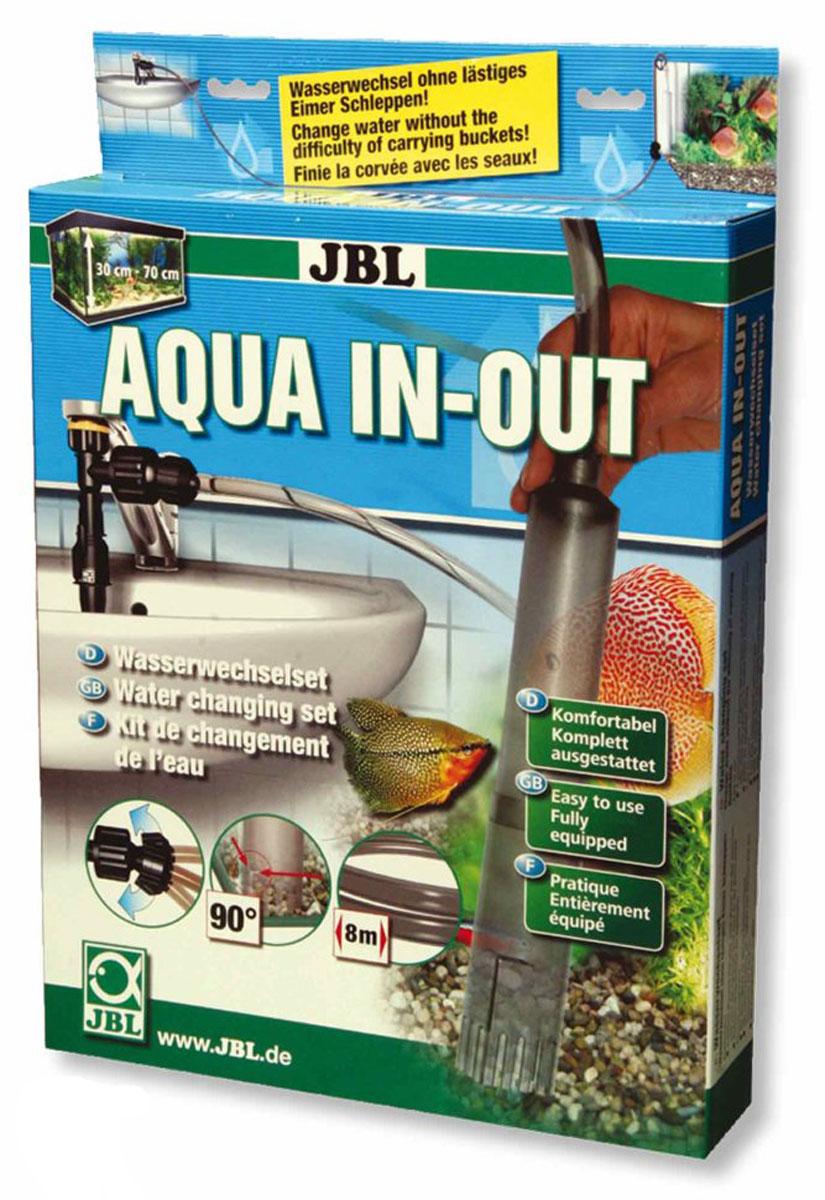Система для эффективной подмены воды при обслуживании аквариума JBL Aqua In-Out Komplett, новая модификацияJBL6143000JBL Aqua In-Out Komplett-Set NEW!!- Система для эффективной подмены воды при обслуживании аквариума, новая модификация