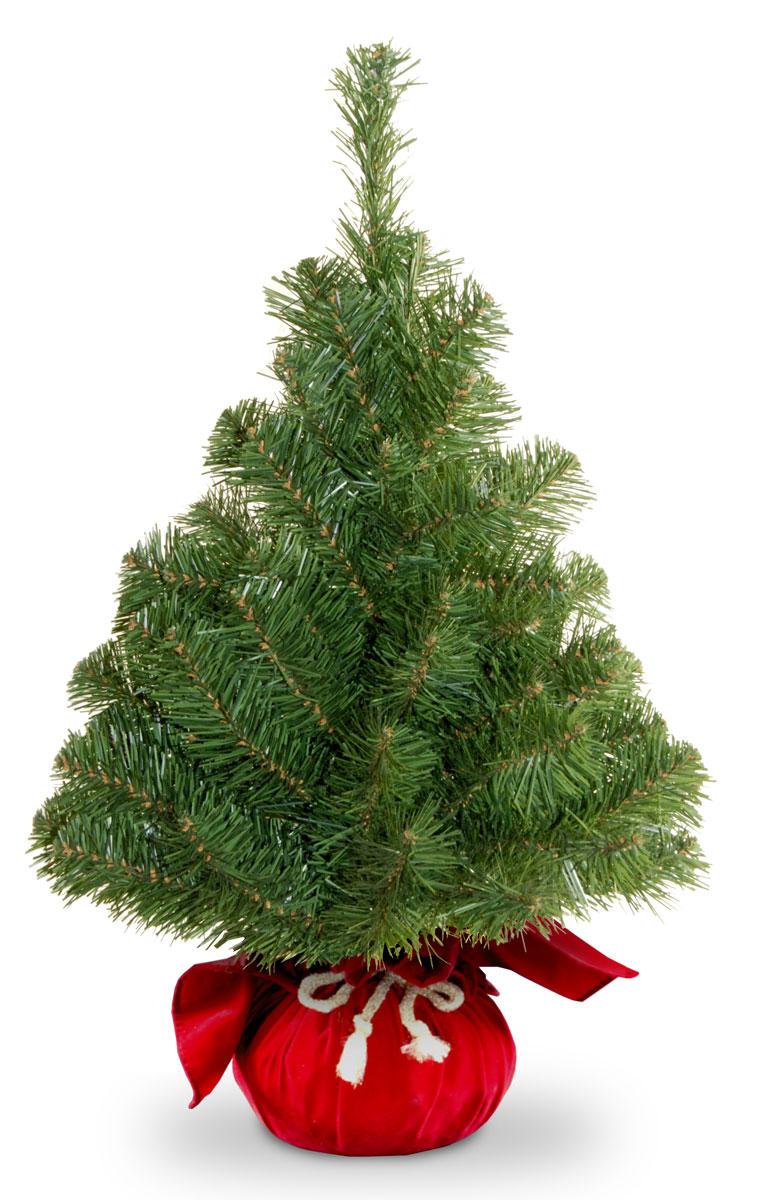 Ель искусственная National Tree Company New Noble Spruce Tree, настольная, в мешочке, высота 61 см31NNB2RDRНа эту елочку приятно смотреть, даже, когда она не наряжена! Она уютная, стильная и так оригинально смотрится, благодаря своим чудесным пушистым лапам и очаровательной подставке в виде мешочка. Однако яркие шары или симпатичные украшения сделают ее еще прелестнее. А представьте, какое удовольствие вы получите от самого процесса оформления - ведь очень приятно наряжать такое небольшое деревце! Настольная искусственная елка великолепного качества украсит любой интерьер, будет одинаково уместна как дома, так и в офисе. В интерьере она может также послужить прекрасным дополнением к большой новогодней ели. Еловые иголки не осыпаются, не мнутся и не выцветают со временем. Полимерные материалы, из которых они изготовлены, не токсичны и не поддаются горению. Высота: 61 см.