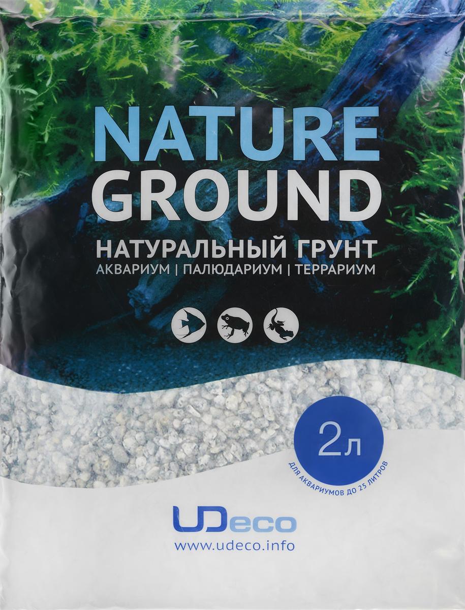 Грунт для аквариума UDeco Серый гравий, натуральный, 4-6 мм, 2 лUDC420252Натуральный грунт UDeco Серый гравий предназначен специально для оформления аквариумов, палюдариумов и террариумов. Изделие готово к применению. Грунт UDeco порадует начинающих любителей природы и самых придирчивых дизайнеров, стремящихся к созданию нового, оригинального. Такая декорация придутся по вкусу и обитателям аквариумов и террариумов, которые ещё больше приблизятся к природной среде обитания. Необходимое количество грунта рассчитывается по формуле: длина аквариума х ширина аквариума х толщина слоя грунта. Предназначен для аквариумов от 25 литров. Фракция: 4-6 мм. Объем: 2 л.
