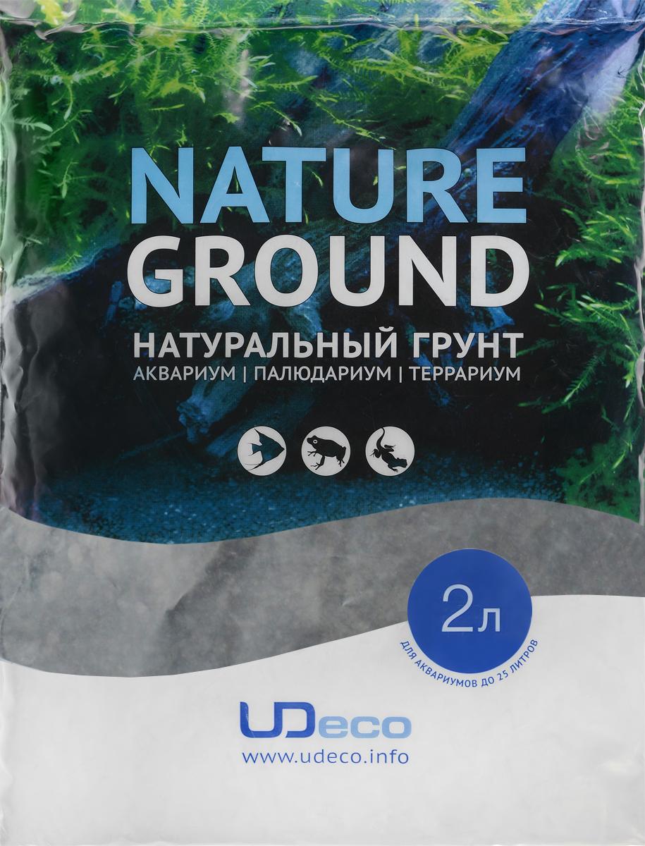 Грунт для аквариума UDeco Темный гравий, натуральный, 3-5 мм, 2 лUDC410642Натуральный грунт UDeco Темный гравий предназначен специально для оформления аквариумов, палюдариумов и террариумов. Изделие готово к применению. Грунт UDeco порадует начинающих любителей природы и самых придирчивых дизайнеров, стремящихся к созданию нового, оригинального. Такая декорация придутся по вкусу и обитателям аквариумов и террариумов, которые ещё больше приблизятся к природной среде обитания. Необходимое количество грунта рассчитывается по формуле: длина аквариума х ширина аквариума х толщина слоя грунта. Предназначен для аквариумов от 25 литров. Фракция: 3-5 мм. Объем: 2 л.