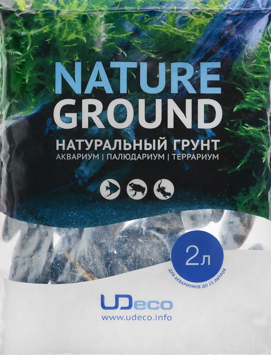 Грунт для аквариума UDeco Черная галька, натуральный, 30-50 мм, 2 лUDC430742Натуральный грунт UDeco Черная галька предназначен специально для оформления аквариумов, палюдариумов и террариумов. Изделие готово к применению. Грунт UDeco порадует начинающих любителей природы и самых придирчивых дизайнеров, стремящихся к созданию нового, оригинального. Такая декорация придутся по вкусу и обитателям аквариумов и террариумов, которые ещё больше приблизятся к природной среде обитания. Необходимое количество грунта рассчитывается по формуле: длина аквариума х ширина аквариума х толщина слоя грунта. Предназначен для аквариумов от 25 литров. Фракция: 30-50 мм. Объем: 2 л.
