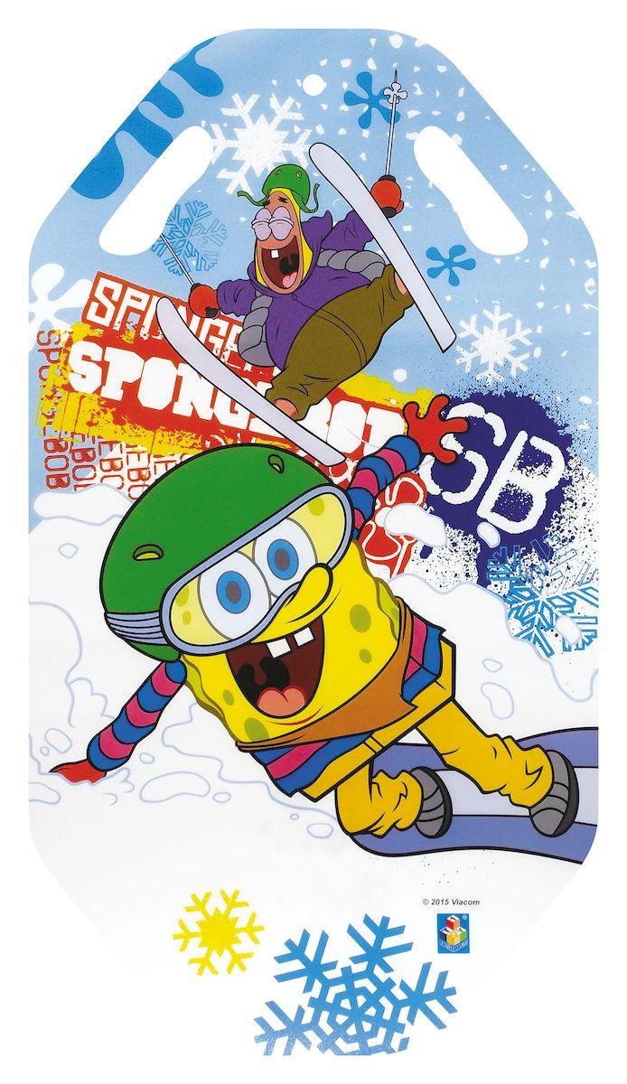 Ледянка 1toy Губка Боб, 92 смТ57200Ледянка для любителей зимних спортивных развлечений с героями любимого мультфильма.