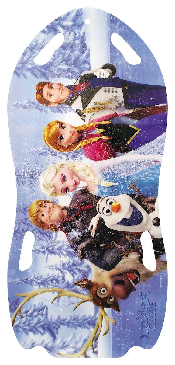 Ледянка для двоих Disney Холодное сердце, 122 смТ57258Ледянка для любителей зимних спортивных развлечений с героями любимого мультфильма.