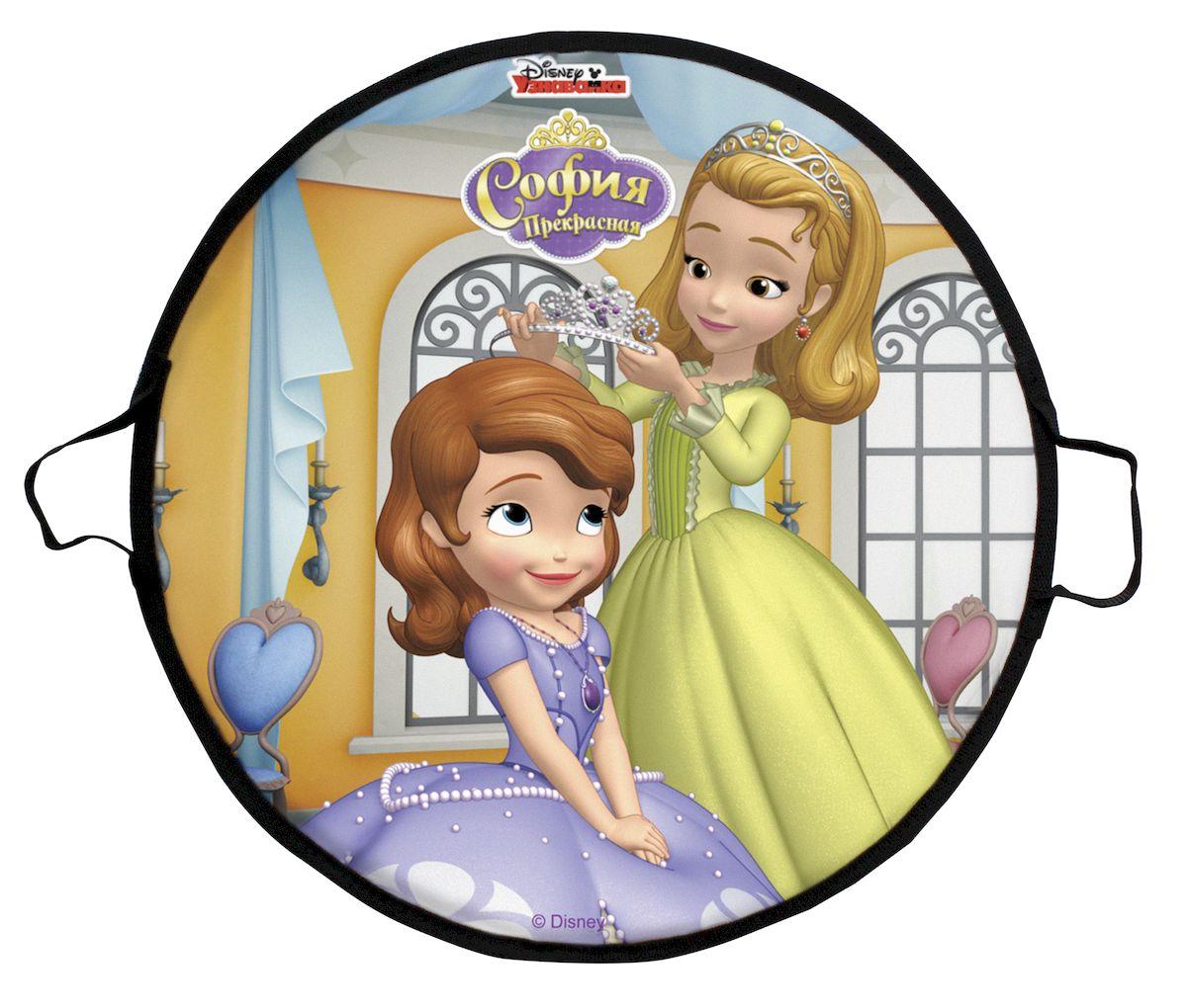 Ледянка Disney София, 52 смТ58473Ледянка для любителей зимних спортивных развлечений с героями любимого мультфильма.