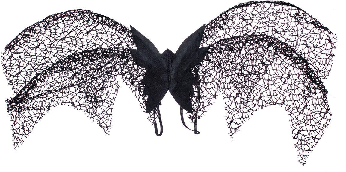 Rio Крылья карнавальные для детей цвет черный4378