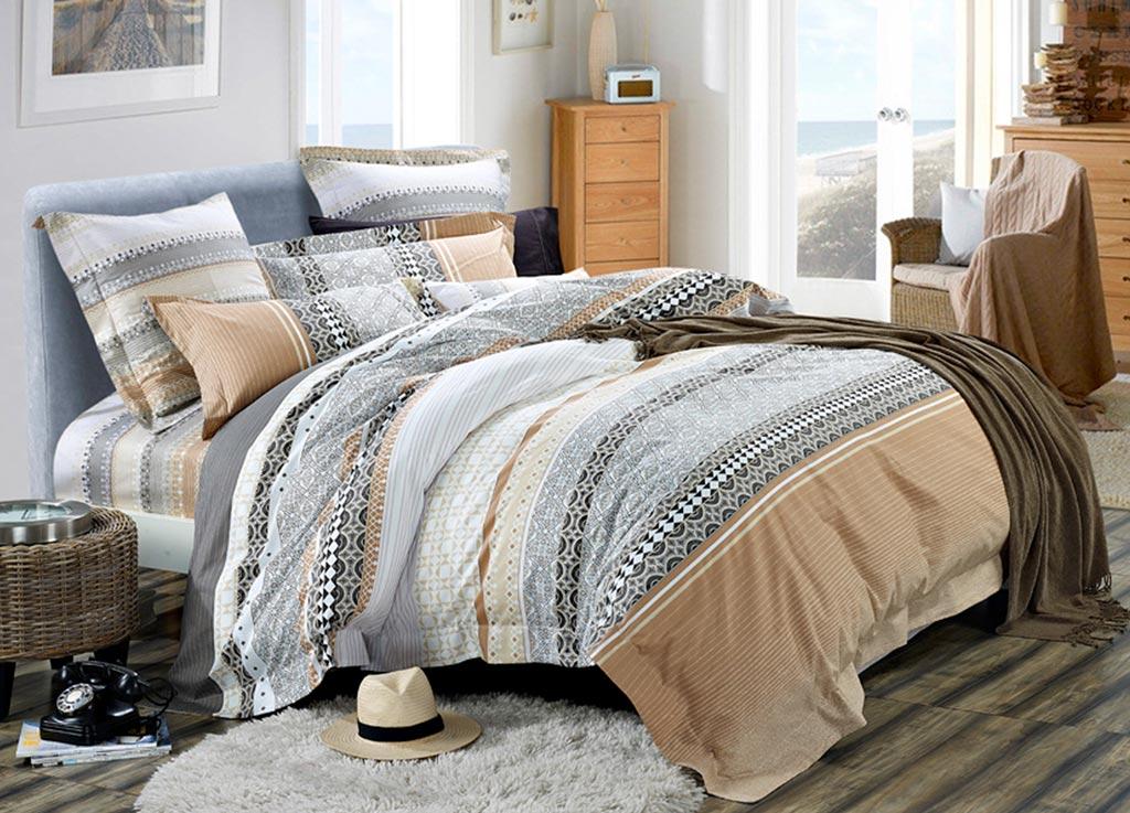 Комплект белья Primavera Classic Греческие узоры, 2-спальный, наволочки 70х7088780