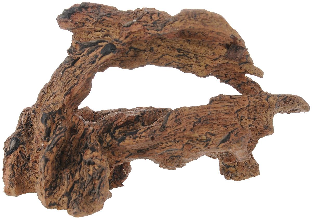 Декорация для аквариума Dennerle Nano Crusta Root M, 13,5 х 6 х 8 смDEN5881Декорация Dennerle Nano Crusta Root M, выполненная из высококачественной керамики, станет прекрасным украшением вашего аквариума. Декорация нейтральна к воде, безопасна для всех видов рыб. Способствует сокращению стрессовых ситуаций, предоставляя укрытие и возможность покидать его, а также проявлению естественного поведения. Имеется функция биофильтрации: специальная пористая керамика для расселения полезных бактерий, улучшающих качество воды. Пористость проявляется при погружении декорации в воду видимым появлением воздушных пузырьков. Для создания природного эффекта можно обмотать мхом.