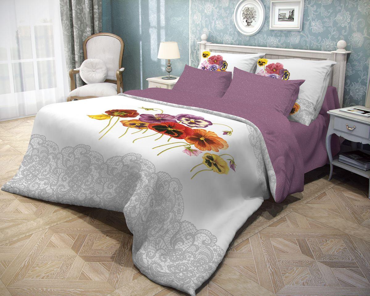 Комплект белья Волшебная ночь Fialki, 2-спальный, наволочки 50x70. 701931701931