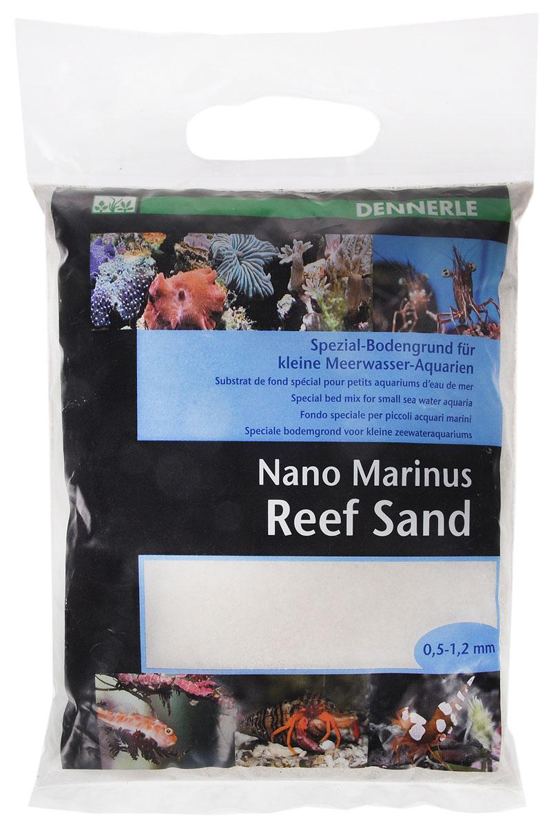 Грунт донный для аквариума Dennerle Nano ReefSand, специальный, 0,5-1,2 мм, 2 кгDEN5624Специальный грунт Dennerle Nano ReefSand предназначен специально для оформления небольших морских аквариумов. Изделие готово к применению. Не содержит вредных веществ, не выделяет фосфаты и нитраты. Грунт идеален для креветок, раков, бычков, трубчатых червей, морских анемон, улиток. Грунт порадует начинающих любителей природы и самых придирчивых дизайнеров, стремящихся к созданию нового, оригинального. Такая декорация придутся по вкусу и обитателям аквариумов и террариумов, которые еще больше приблизятся к природной среде обитания. Фракция: 0,5-1,2 мм. Вес: 2 кг.