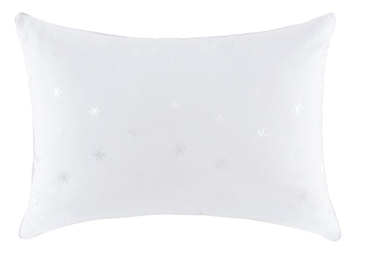 Подушка SPAtex, наполнитель: искуственный лебяжий пух, 50 х 70198786Изделия имеют мягкую, лёгкую и воздухопроницаемую фактуру, создают прохладную и спокойную атмосферу сна, предупреждают скопление влаги, сохраняют свежесть и гигиенические свойства. Вставка Climatbalance 3D с воздушными каналами создаёт активный воздухообмен, обеспечивая подушке и одеялу особую гипервентиляцию. Подушка имеет сложную конусообразную конструкцию для создания максимального комфорта, «утопания» и мягкой поддержки головы
