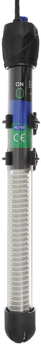 Нагреватель-терморегулятор Barbus HL-150W, 150 ВтHL-150WНагреватель-терморегулятор Barbus HL-150W обеспечивает высокую точность поддержания заданной температуры. Полностью погружной. Ударопрочный корпус, выполненный из высококачественной нержавеющей стали, обеспечивает нагревателю долгий срок эксплуатации. Сверху имеется циферблат значения температуры. Крепится при помощи двух присосок. Мощность: 150 Вт. Температура: 20-32°С. Рекомендуемый объем аквариума: 120-170 л. Напряжение: 220-240В. Частота: 50/60 Гц. Длина нагревателя: 28 см.
