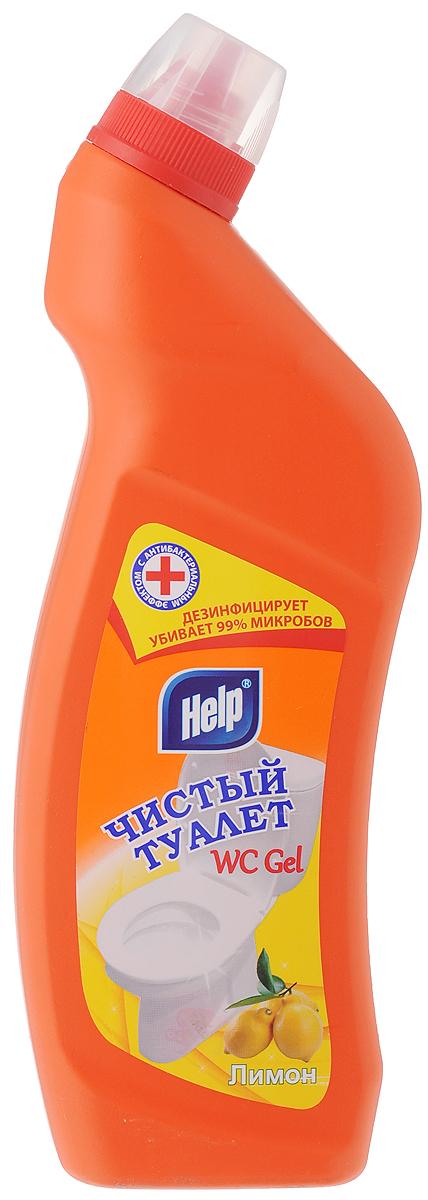 Средство для чистки унитаза Help Чистый туалет, с ароматом лимона, 750 мл4605845002460Средство Help Чистый туалет предназначено для чистки и ухода за туалетом. Удаляет ржавчину, устойчивые загрязнения, отложения мочевого и известкового камней. Средство обладает антимикробным действием, устраняет неприятный запах и имеет густую консистенцию, благодаря чему не стекает с наклонных поверхностей. Товар сертифицирован.
