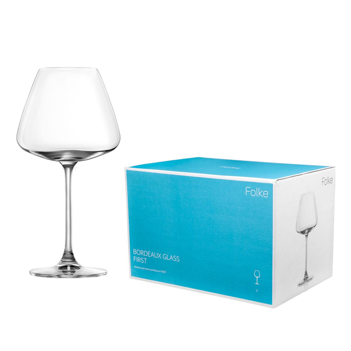 Набор бокалов для вина Folke Bordeux Glass, 590 мл, 6 предметов. 2007172U2007172UКоллекция First- это бокалы из бессвинцового хрусталя высшего качества. Наша продукция отличается исключительной чистотой и повышенной устойчивостью к механическим повреждениям. Улучшенные характеристики изделий позволяют использовать их повседневно в домашних условиях и в ресторанном бизнесе. Оригинальный дизайн позволяет любому напитку полностью раскрыться и заиграть новыми красками. Это поистине уникальное творение современных технологий и многолетнего опыта лучших мировых сомелье.