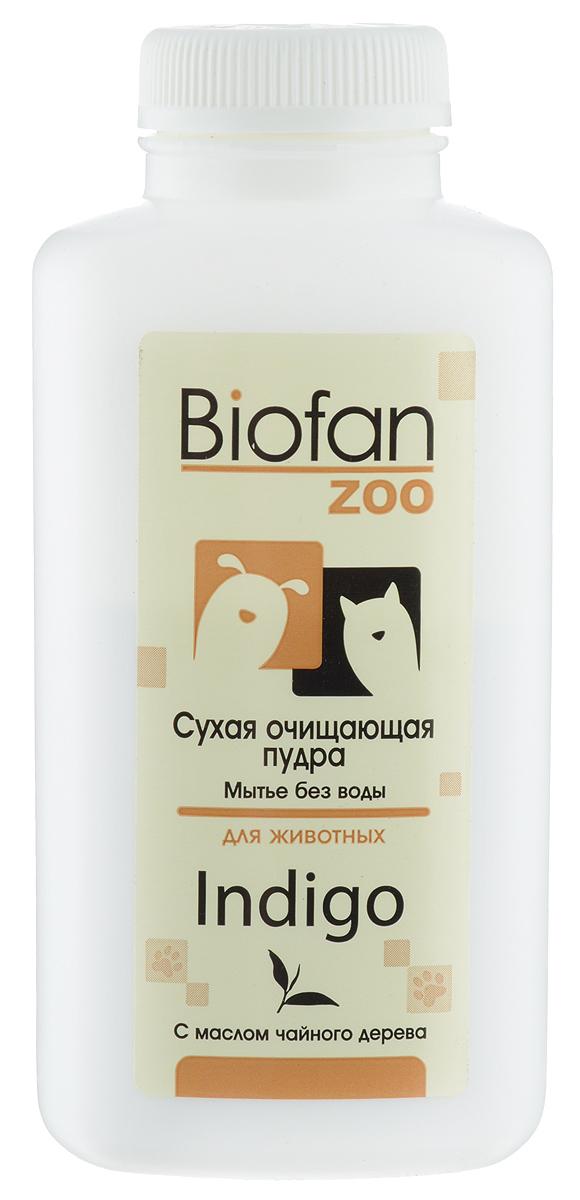 Пудра очищающая для животных Biofan Zoo
