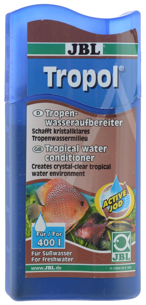 Кондиционер JBL Tropol, для получения тропической воды, 100 млJBL2306600Кондиционер JBL Tropol это концентрат торфа с йодом. Кондиционер обеспечивает кристально чистую среду, типичную для тропических вод и предотвращает развитие водорослей. Укрепляет здоровье рыб благодаря гуминовым веществам из торфа и дубильным веществам из коры дуба. Активный йод способствует разведению потомства. Облегчает привыкание всех рыб, обитающих в богатой гумусом воде (например, неоны, скалярии, дискусы и др.). Нейтрализует стрессы. Применение: 10 мл на 40 л воды. Товар сертифицирован.
