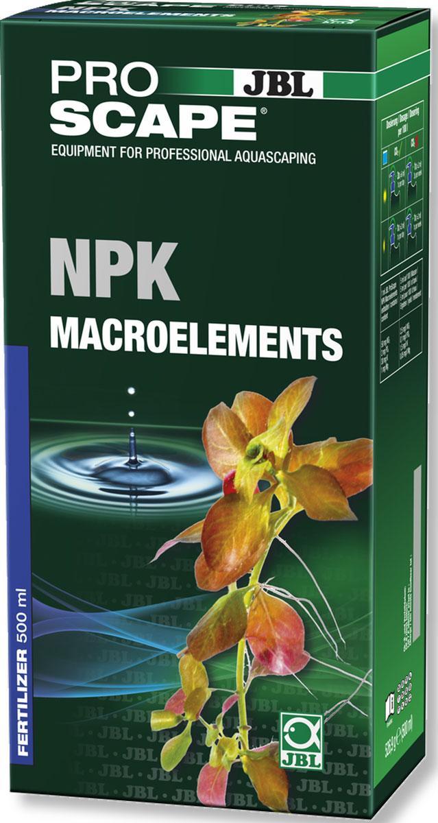 JBL ProScape NPK Macroelements Азотно-фосфорно-калийное удобрение для растений, 500 млJBL2111500JBL ProScape NPK Macroelements - Азотно-фосфорно-калийное удобрение для растений, 500 мл