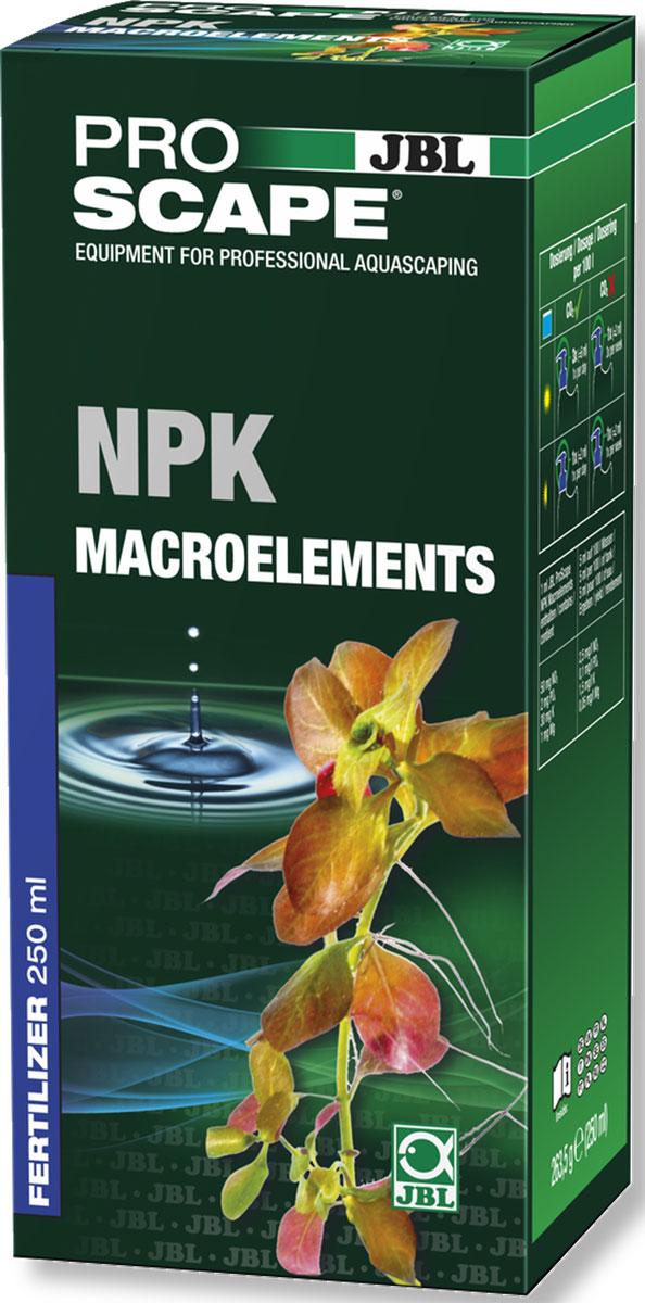 JBL ProScape NPK Macroelements Азотно-фосфорно-калийное удобрение для растений, 250 млJBL2111400JBL ProScape NPK Macroelements - Азотно-фосфорно-калийное удобрение для растений, 250 мл