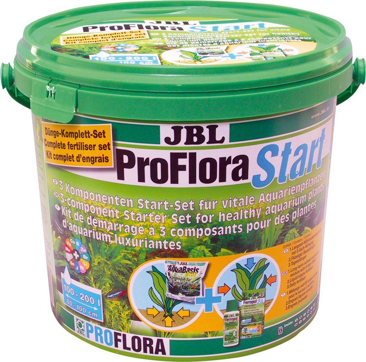 JBL ProfloraStart Set 200 3-х компонентный стартовый комплект для живых аквариумных растений, для аквариумов до 200 л.JBL2021800JBL ProfloraStart Set 200 - 3-х компонентный стартовый комплект для живых аквариумных растений, для аквариумов до 200 л.