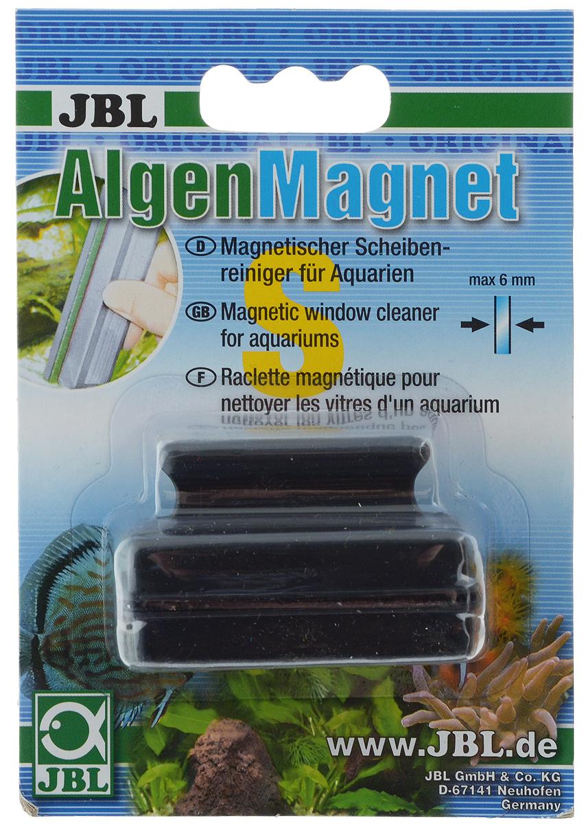 Щетка для нано-аквариума JBL Algenmagnet, магнитная. 6129100JBL6129100Магнитная щетка JBL Algenmagnet предназначена для быстрой и тщательной очистки стекол нано-аквариума от налета и обрастаний. Ключевые преимущества: - Скребок обеспечивает простую чистку аквариумных стекол без мокрых рук. - Снабжён простой ручкой с выемкой для удобного пользования. - Сильный магнит для прочного схватывания водорослей и быстрой очистки стекол. Максимальная толщина стекла: 6 мм. Общий размер щетки: 6 х 2,5 х 4 см.