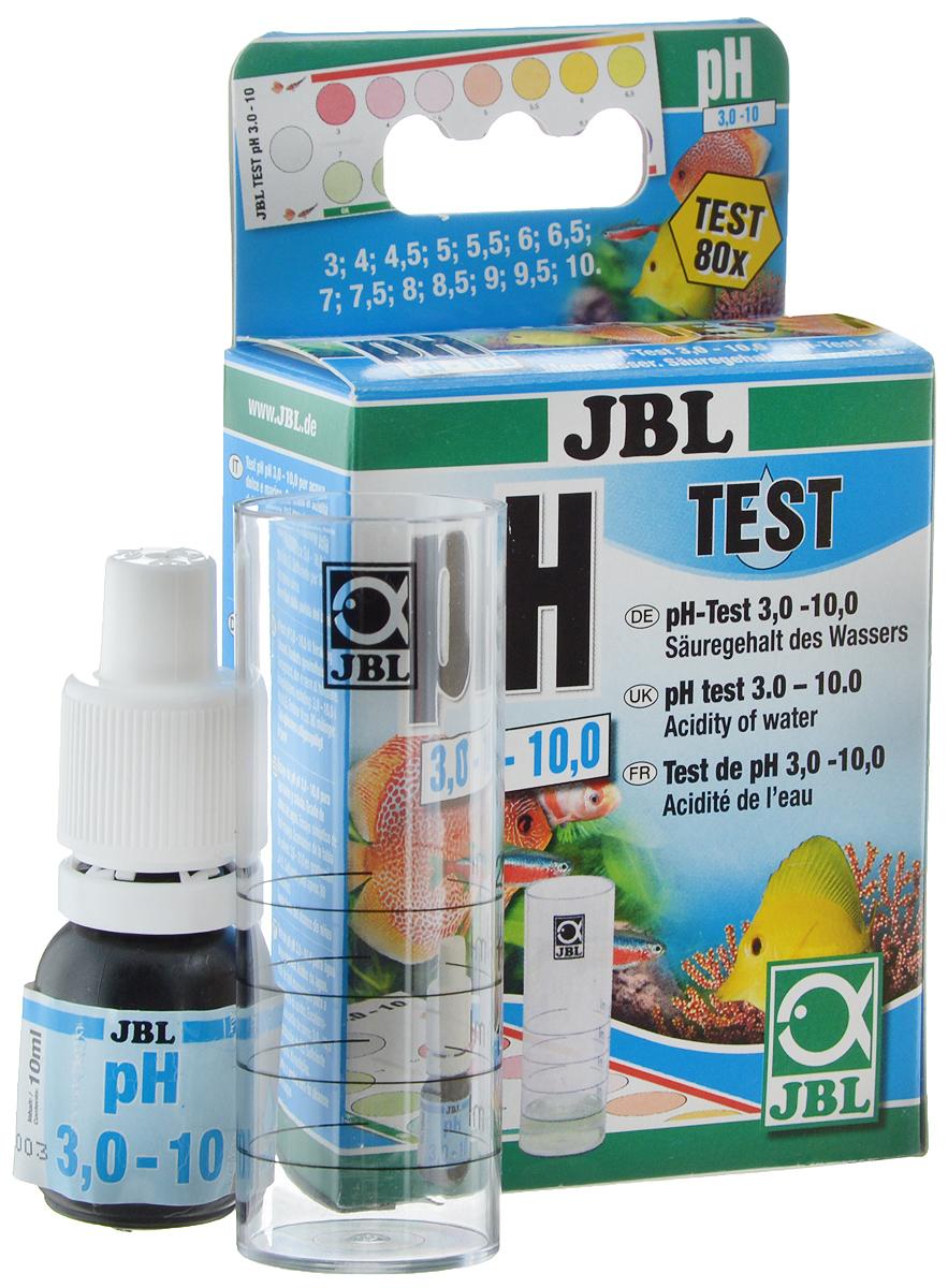 Тест JBL pH Test-Set, для контроля значения рН в пресной и морской водеJBL2534200JBL pH Test-Set - это простой в обращении быстрый тест для ориентировочного контроля значения рН в пресной и морской воде, а также в садовых прудах в широких пределах от 3,0 до 10. Постоянное - по возможности - поддержание подходящего значения рН является важным условием для хорошего самочувствия рыб и низших организмов, а также хорошего роста водных растений. Оптимальное значение рН для содержания большинства пресноводных рыб и растений находится в нейтральных пределах около 7. В морском аквариуме значение рН должно составлять 7,9 - 8,5. В садовом пруду благоприятными значениями являются 7,5 - 8,5. Способ применения достаточно прост: нужно заполнить мерный сосуд тестируемой водой до отметки 5 мл. Добавить 4 капли реактива, немного смешать и оставить на 3 минуты. Сравнить получившийся цвет, поместив сосуд на белый фон, с прилагаемой шкалой цветности и прочитать соответствующее значение рН.